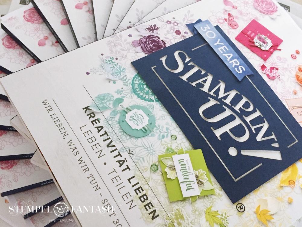 Stampin`Up!_Stempelfantasie_Katalog versenden_Katalogbeileger_Geschenk_Post it`s