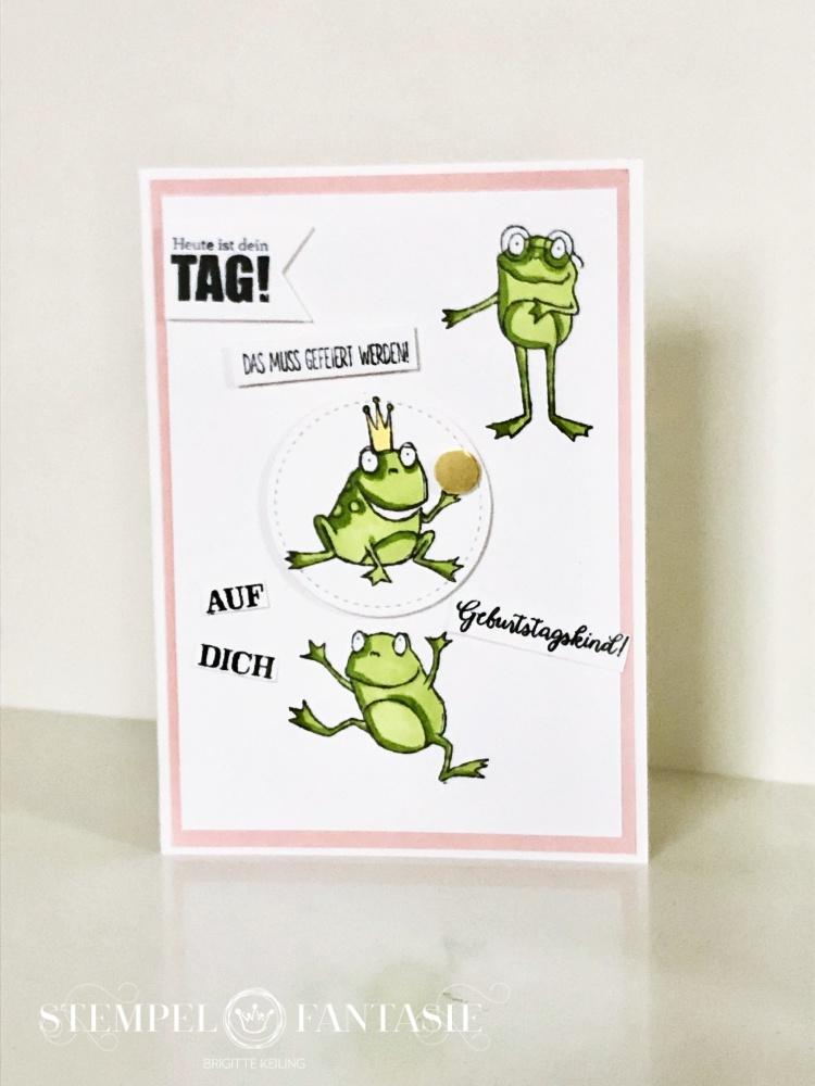 Stempel Frosch