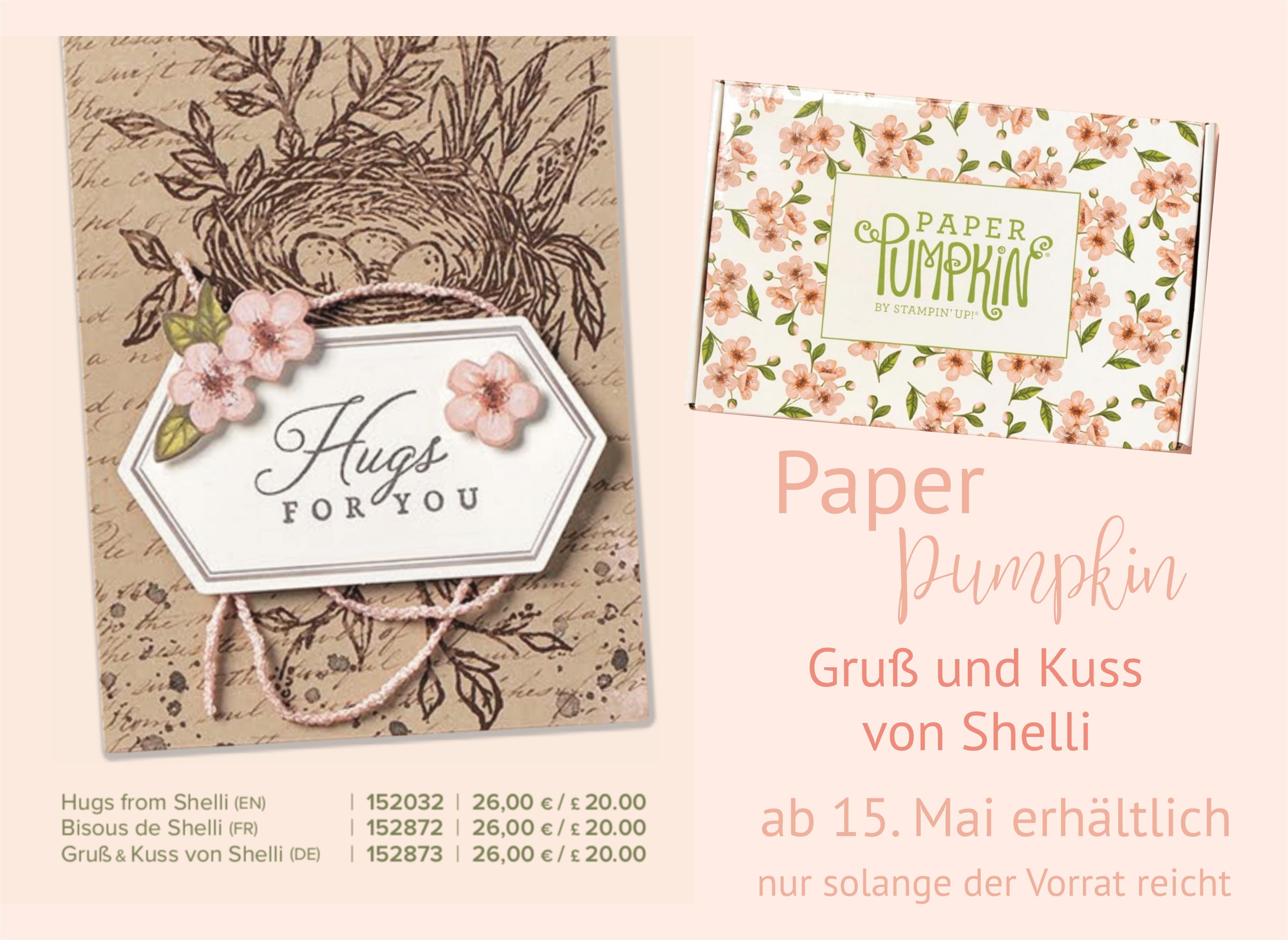 Paper Pumpkin_Stsmpin`Up!_Gruss und Kuss von Shelli