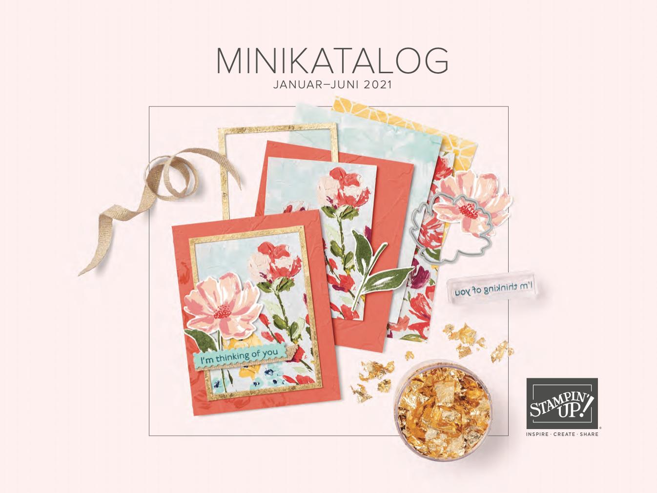 Vorbestellung Minikatalog Frühjahr:Sommer 2021